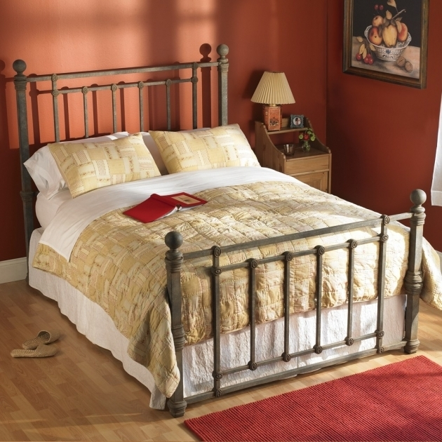 Rustic Metal Bed Frames Hancock Iron Beds Photo 45