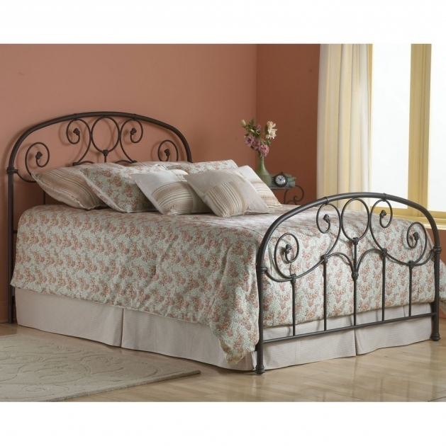 Rustic Metal Bed Frames Vintage White Wrought Iron Frames Minimalist Ideas With Beautifull Sheet And Laminating Flooring Bedroom Image 30