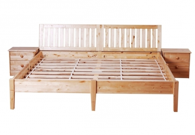 impressive wood bed frame queen cheap
