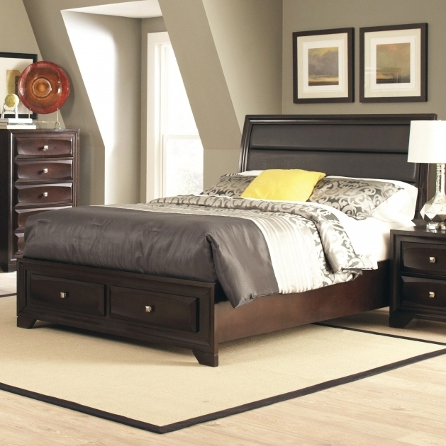 Upholstered Headboard And Footboard Set Design Ideas Image 11