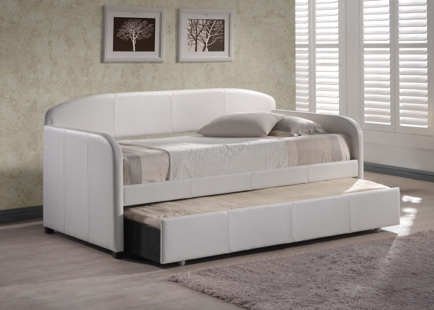 White Daybed With Trundle Bed Ideas Photos 40