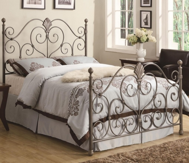 Wrought Iron Headboard For Bedroom Delectable Design King Picture 49