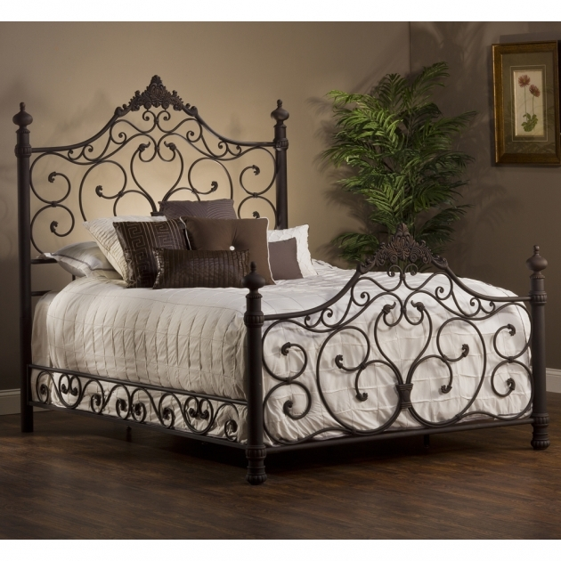 Wrought Iron Headboard Queen Picture 56