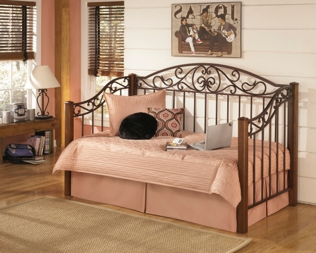 Ashley Furniture Metal Beds Bedroom Daybed B429 80 I Keating Images 91