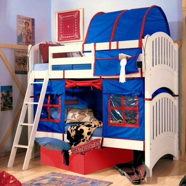 Bunk Bed With Only Top Bunk Canopy Ideas Design Image 38