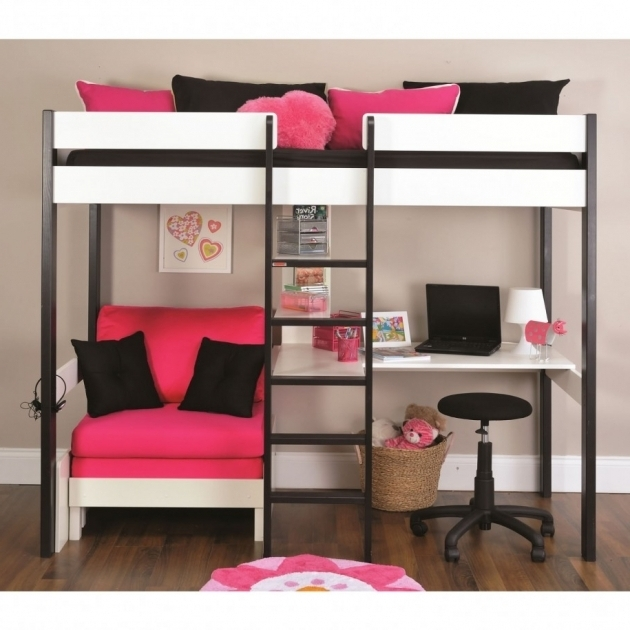 Bunk Bed With Only Top Bunk With Couch Nail Pictures 56