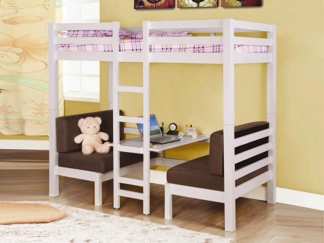 Bunk Bed With Only Top Bunk With Double Futon Photos 61