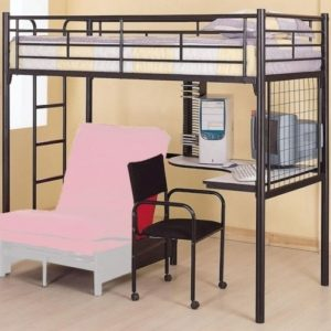 Bunk Bed with Only Top Bunk