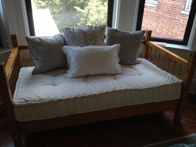 Custom Sewn Hand Tufted Daybed Cushion Window Seat Image 65