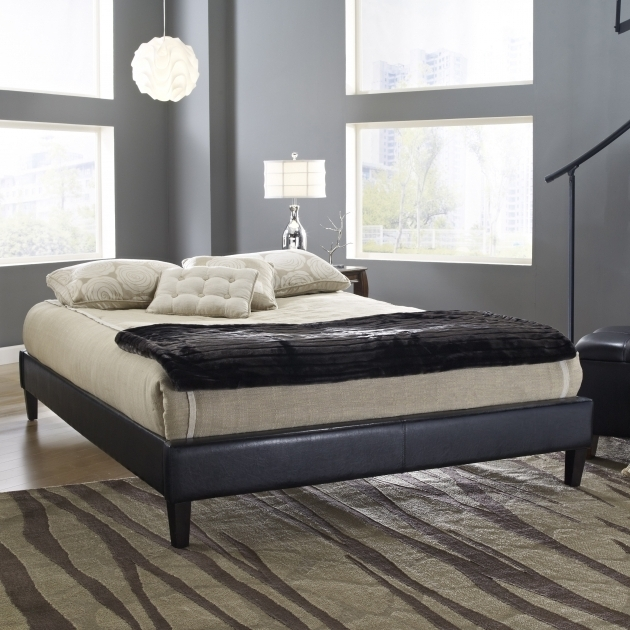 Eco Lux Upholstered Platform Bed With Mattress Photo 80