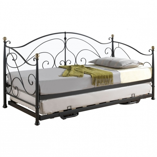 Home Decor Undolock Full Size Daybed With Trundle Bed Espresso Photos 03