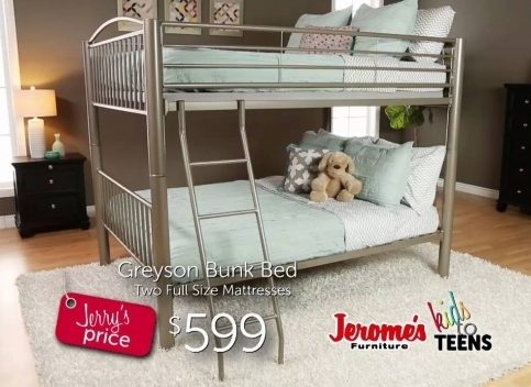 Jeromes Bunk Beds Furniture Youth Bunk Beds Photo 93