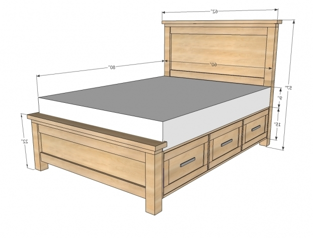 King Size Headboard Dimensions And Plans Photo 33 Bed