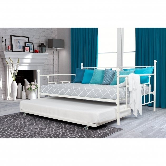 Manila Full Size Daybed With Trundle Bed Twin White Pictures 43