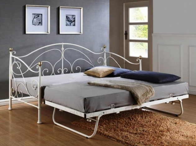Modern Daybeds With Pop Up Trundle And Nightstands Elegant