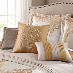 Metallic Gold Bedding