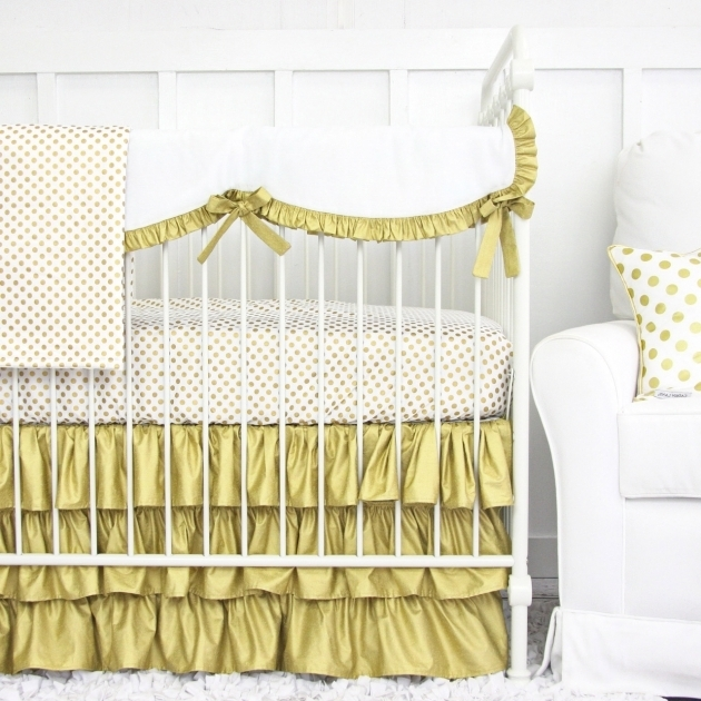 Metallic Gold Bedding Aqua Nursery Ideas Crib Bedding Pictures 73