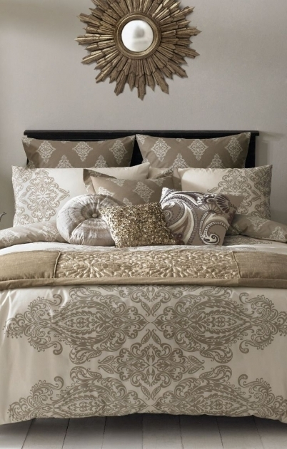 Metallic Gold Bedding Ideas Comforter Photo 61