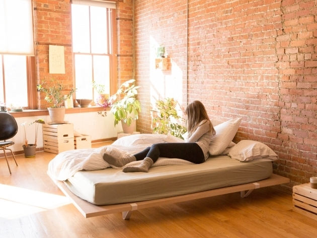 Minimal Platform Bed City Living Design Images 95