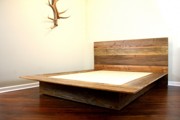 Minimal Platform Bed Frame Wooden Ideas Picture 31