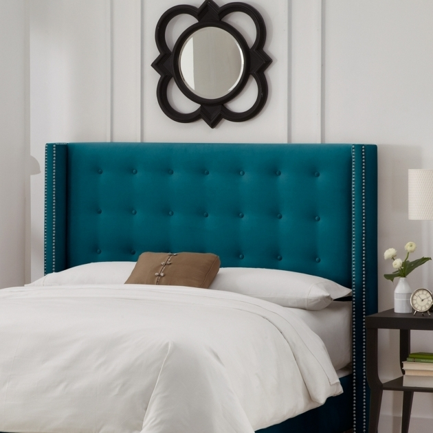 Nail Button Tufted Upholstered How To Make A Padded Headboard Photo 57