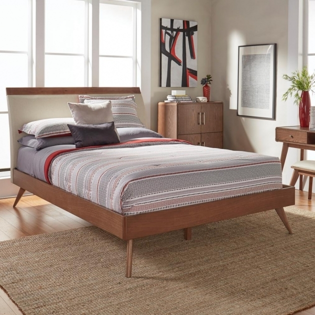 Platform Bed With Mattress And Headboards Also Footboards Bedroom Furniture Pictures 33
