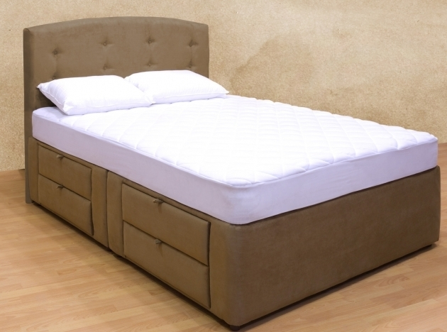 Platform Bed With Mattress Tiffany 8 Drawer Storage Photo 27