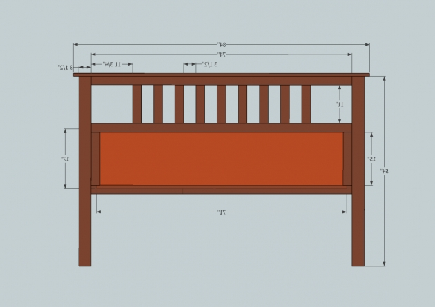 Slatted King Size Headboard Dimensions Diy Projects Picture 03
