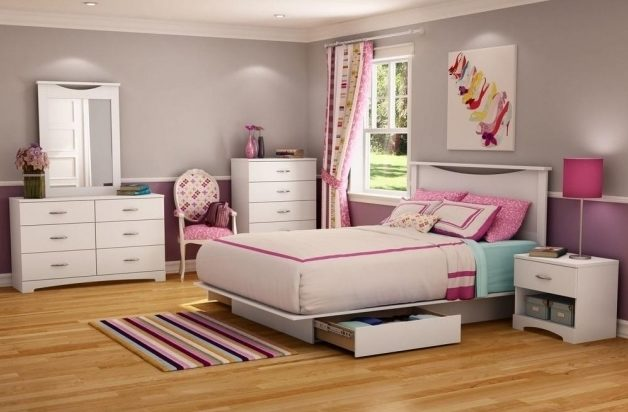 South Shore Majestic Storage Platform Bed Queen Size In Pure White Photo 13