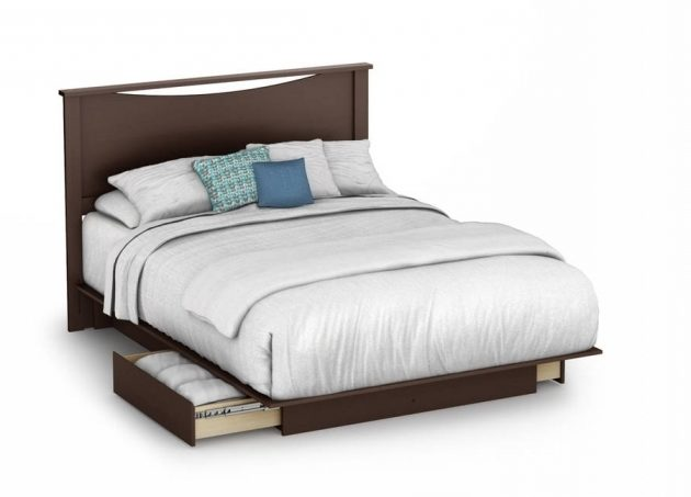 South Shore Soho Full Storage Platform Bed Queen With 2 Drawers Pictures 68