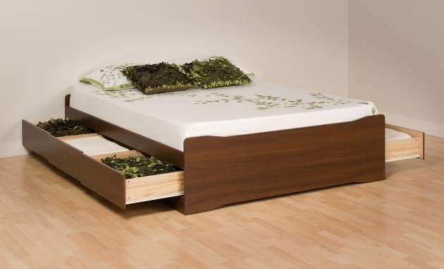 Storage Platform Bed Queen With Drawers  Picture 89