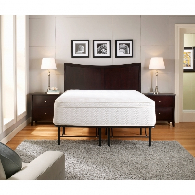Tall Platform Bed Frame Premier Platform 14in Metal Base Foundation Pictures 01