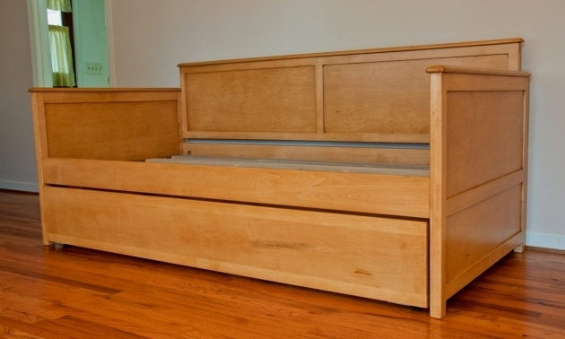 Twin XL Daybed Frame Ash Bookcase With Trundle Photo 98