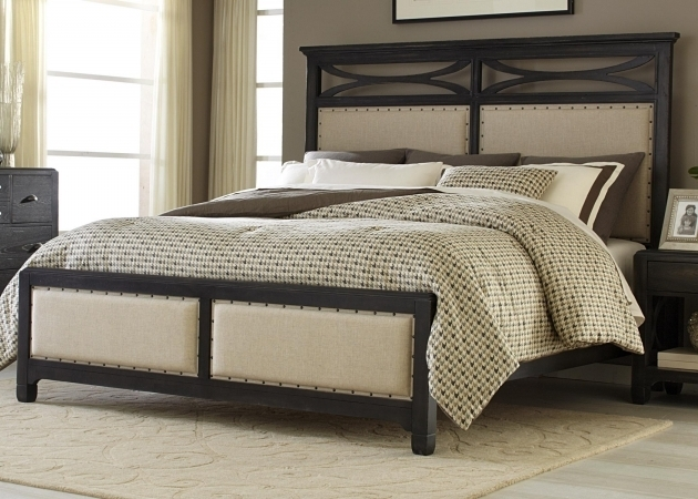 Upholstered King Headboard And Footboard Sets Bedroom Furniture Ideas Photos 28