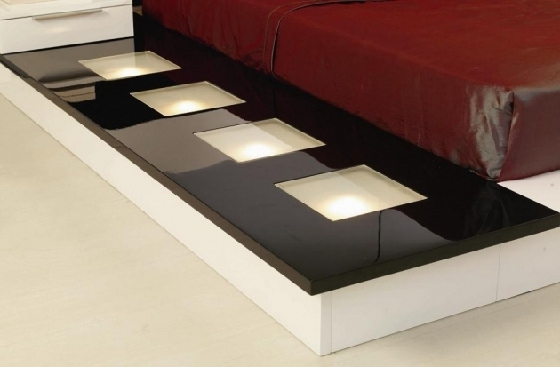 Wonderful Modrest Impera Modern Contemporary Lacquer Platform Bed Red Photos 69
