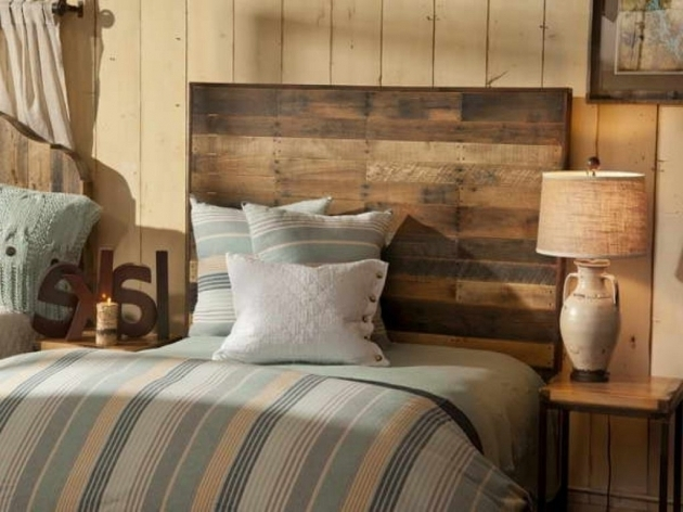 Bedroom For Reclaimed Wood King Headboard Ideas Photos 21
