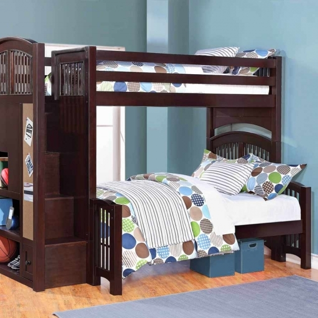 Best Twin Over Full Bunk Bed With Mattress Included Photo 18