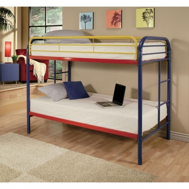 Bunk Beds With Mattresses Included For Sale Acme Furniture Thomas Twin Over Twin Metal Kids Bunk Bed Photos 75