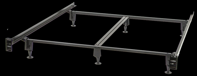 California King Metal Bed Frame Platform Beds Images 03