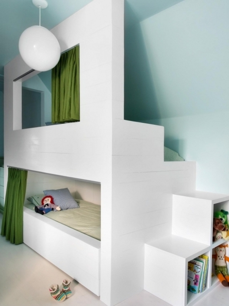 Contemporary Low Height Bunk Beds Design Photo 41