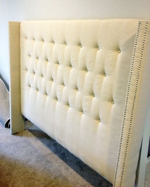 Diy Fabric Headboard Easy How To Make A Fabric Headboard Pictures 10