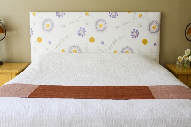 Diy Upholstered Headboard How To Make A Fabric Headboard Images 59
