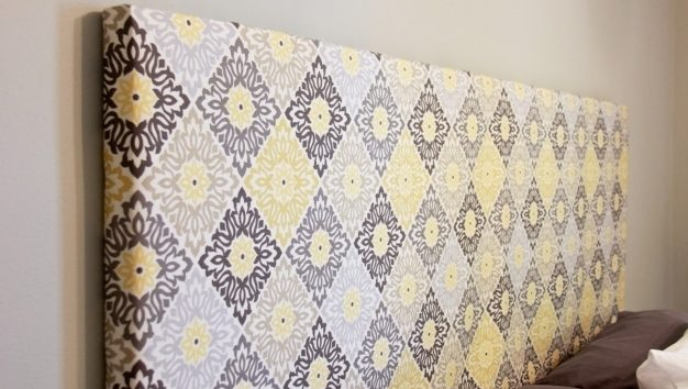 How To Make A Fabric Headboard Master Bedroom Redo Diy Picture 44