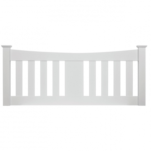 Kingfisher White Stand Alone Headboard Images 89