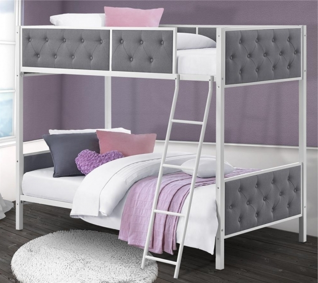 Low Height Bunk Beds With Stairs Furniture Chesterfield Upholstered Bunk Bed Images 42