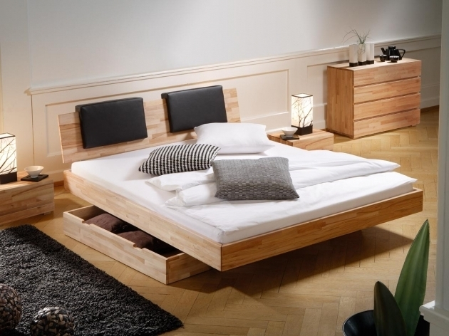 Queen Platform Bed With Storage And Headboard Wooden Ideas Modern Design Pictures 01