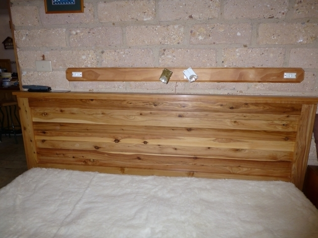 Reclaimed Wood Cal King Headboard Image 59