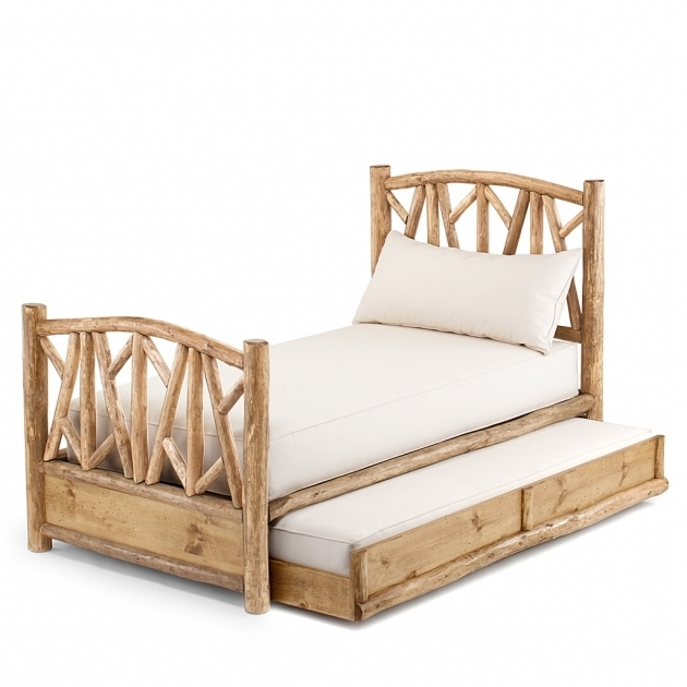 Rustic Daybed With Trundle 4510L Open  Photo 81