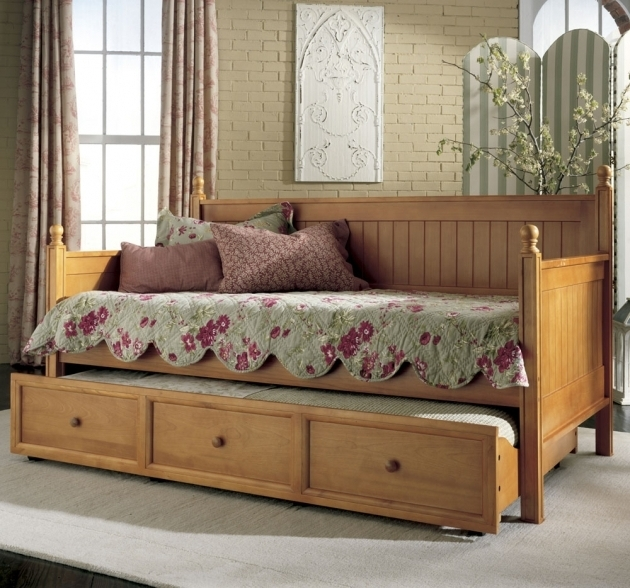 Rustic Daybed With Trundle Furniture Photos 91