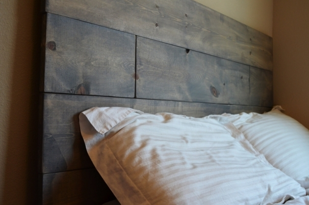 Rustic Gray Wood Headboard Cordoba Photo 70